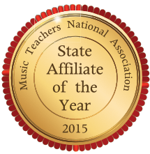 2015 MTNA State Affiliate of the Year